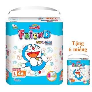 Tã Quần Goon Friend Mới M54 L46 XL40 XXL34 XXXL22 thumbnail