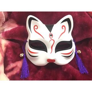 Mặt Nạ Vẽ Mèo kẻ đen ( có ảnh thật kèm video ) shopee. vn|mochi04