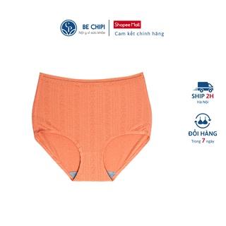 Quần lót nữ cotton BECHIPI cạp cao gen bụng dưới từ 2-4cm, freesize 50-70kg - QL2022 thumbnail