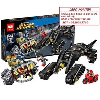 Bộ lắp ráp Lego Killer Croc Sewer Smash Lepin 07037 SY 842