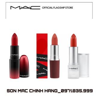 [Mã COSHOT03 giảm 10% đơn 350K] Son MAC Loud And Clear, Son Mac Limited Đủ Bill Bao Check thumbnail