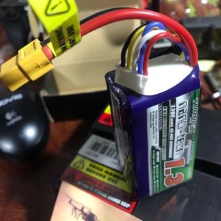 Pin nanotech turnigy 1300