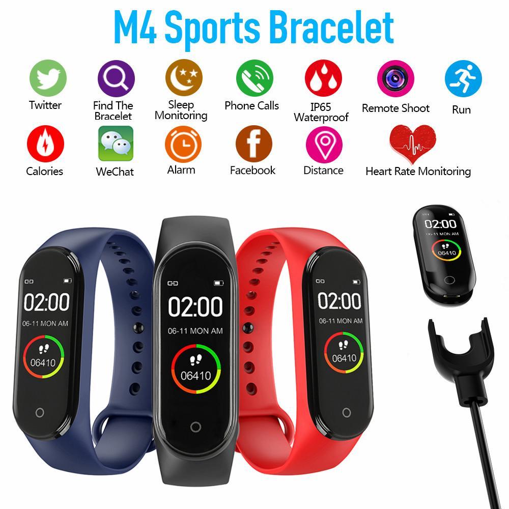 Vòng đeo tay thông minh hỗ trợ theo dõi sức khỏe M4