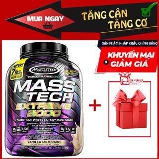 Sữa Whey + Mass Tăng Cân + Tăng Cơ – Mass Tech Extreme 2000 7lbs (~3.2kg)