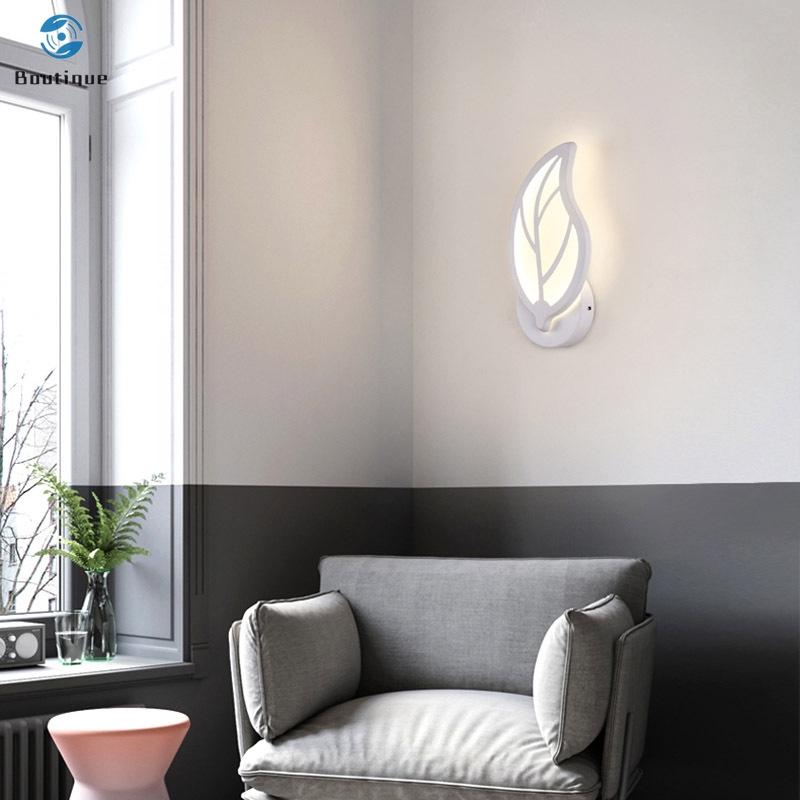 Đèn Led Gắn Tường Hình Chiếc Lá Đơn Giản