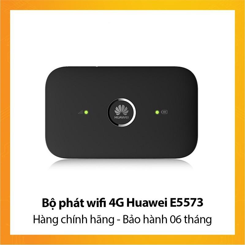 Bộ phát wifi 4G Huawei E5573 - Hàng chính hãng - Bảo hành 06 tháng