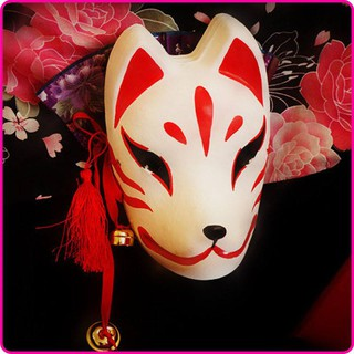 Mask_#5(Mặt nạ cáo,mask fox) -cosplay