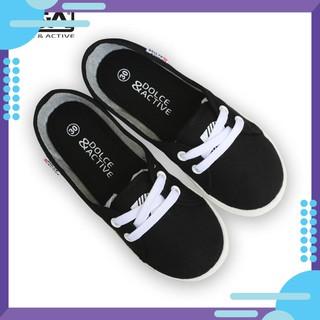 [HOT] Giày slipon bé gái D A EPG1928 đen