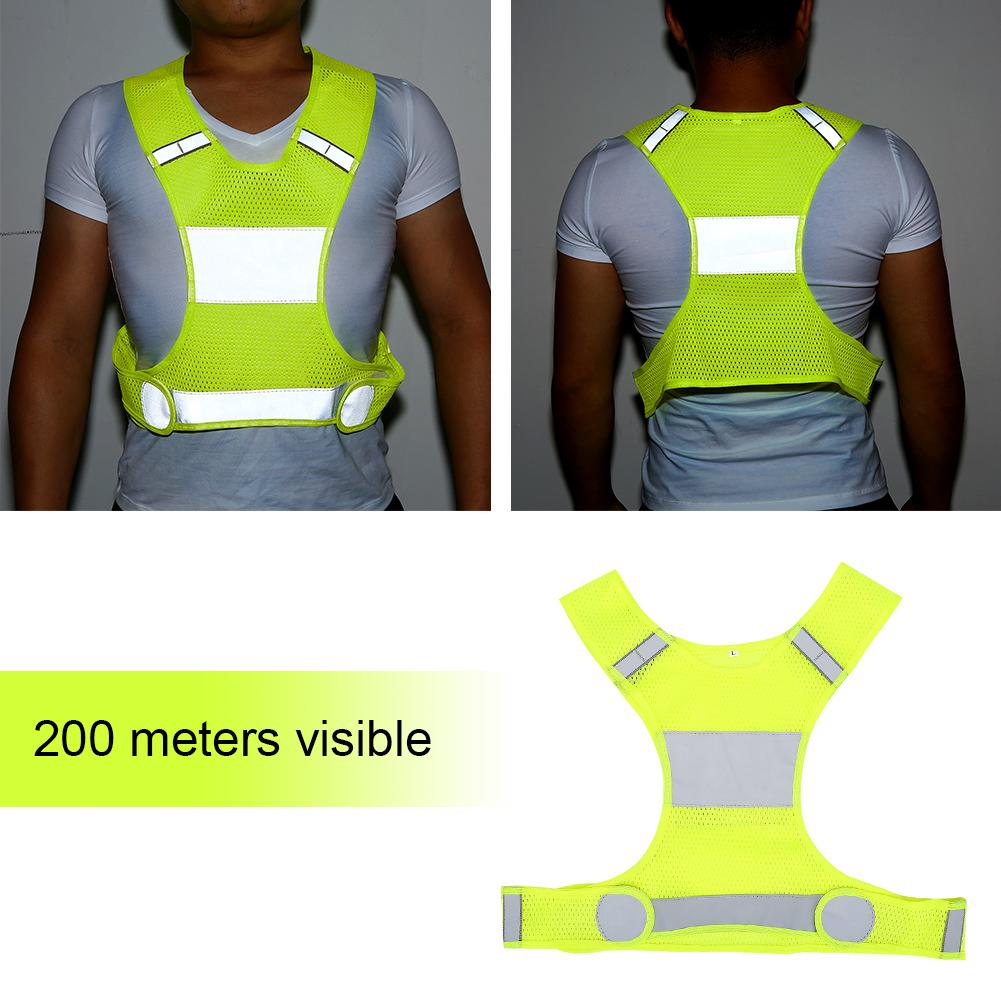 Áo vest phản quang chuyên dùng cho chạy bộ ban đêm thumbnail