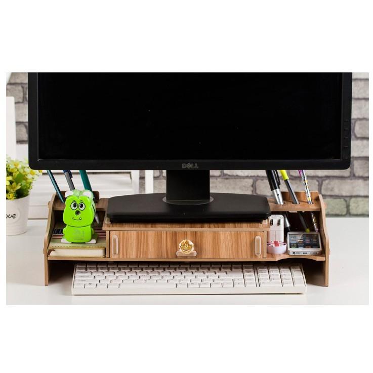 Bàn kê màn hình máy tính Monitor, Laptop đa năng bằng gỗ ghép có hộc tủ tiện dụng cao cấp - 10045683 , 779338903 , 322_779338903 , 189000 , Ban-ke-man-hinh-may-tinh-Monitor-Laptop-da-nang-bang-go-ghep-co-hoc-tu-tien-dung-cao-cap-322_779338903 , shopee.vn , Bàn kê màn hình máy tính Monitor, Laptop đa năng bằng gỗ ghép có hộc tủ tiện dụng cao