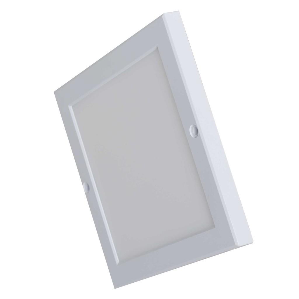 Đèn LED Ốp Trần Vuông Cảm Biến Rạng Đông 18W 220x220mm, Kiểu Dáng Hàn Quốc, ChipLED Samsung
