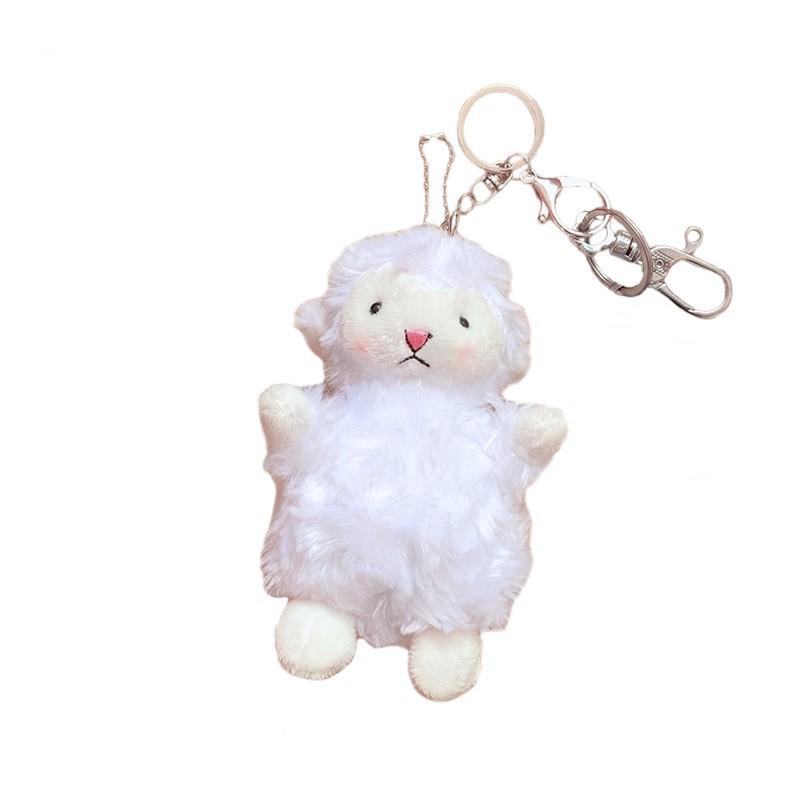 Móc Khóa Hnh Con Cừu Trắng Siêu Dễ Thương.
