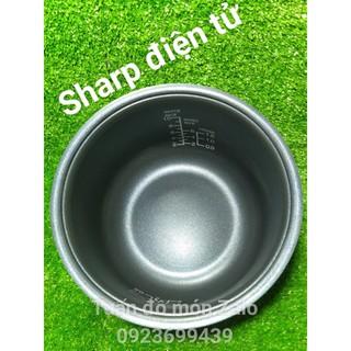 Lòng Nồi Cơm Điện Tử Sharp KS-TH18-RD (1.8 Lít)  phụ kiện phụ tùng linh kiện chính hãng