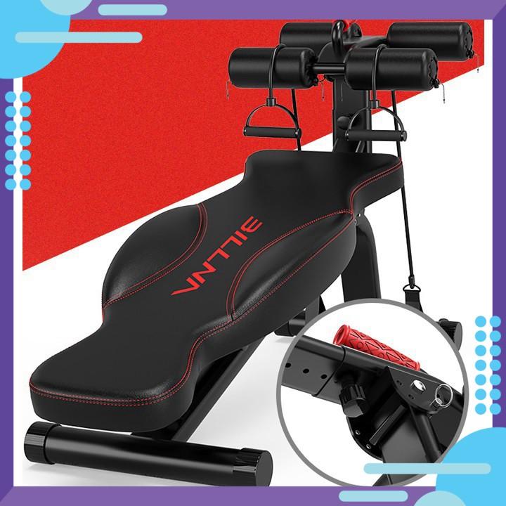 TE0033 Máy tập gym toàn thân - Máy tập cơ bụng - Máy tập thể dục( Hàng Chất Lượng Cao)