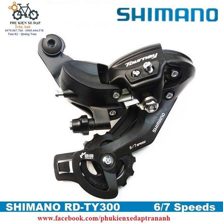 Củ cùi đề xe đạp Shimano Tourney RD-TY300 6-7-8speed - Hàng chính hãng