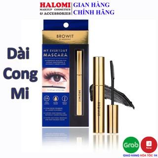 Mascara Browit Nongchat Thái Làm Dày Dài Mi Chuyên Dụng Cho Makeup