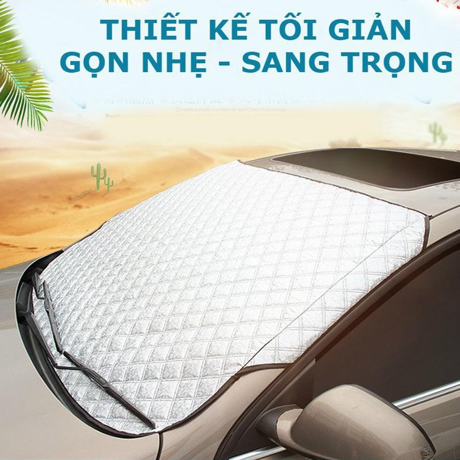 Bạt che nắng kính lái ô tô - Cách nhiệt chống nóng hiệu quả B005