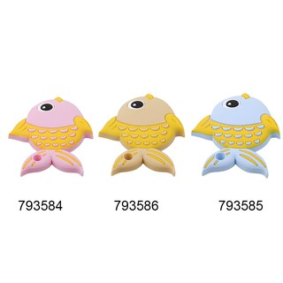 Baby Teethers Cute Fish Type Pendant Necklace Accessory Silicone Chew Charms Toy