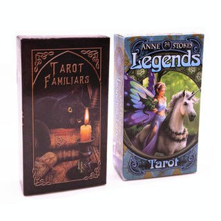 Familiars Tarot Card Legends Tarot Divination Fortune Predict Card Game Deck