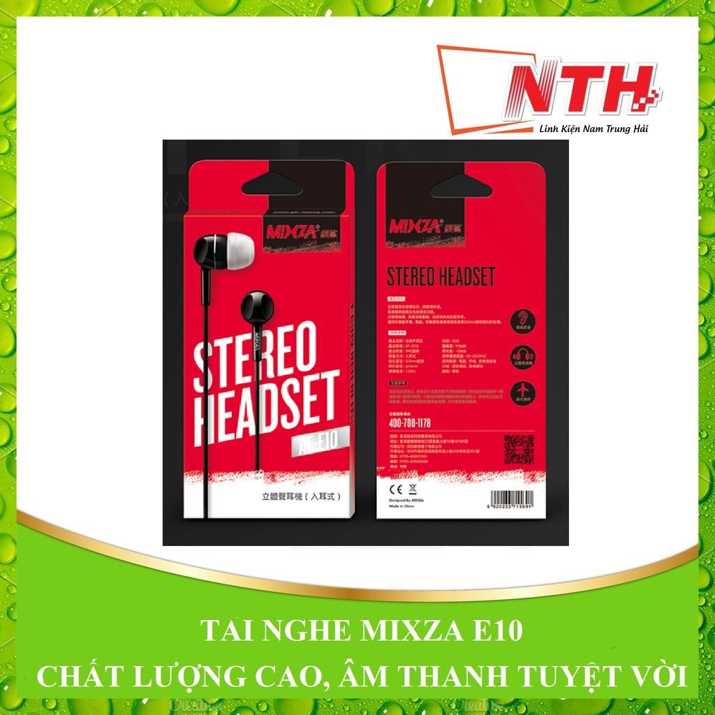 [NTH] Tai Nghe MIXZA E10 chất lượng cao âm thanh tuyệt vời - 2597008 , 1032668937 , 322_1032668937 , 49000 , NTH-Tai-Nghe-MIXZA-E10-chat-luong-cao-am-thanh-tuyet-voi-322_1032668937 , shopee.vn , [NTH] Tai Nghe MIXZA E10 chất lượng cao âm thanh tuyệt vời