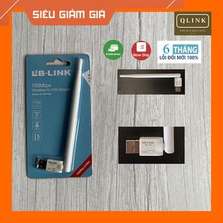 Usb wifi, usb thu wifi LB-Link có râu 150Mbps tăng tốc độ wifi cho laptop, pc thiết kế nhỏ gon tiện lợi