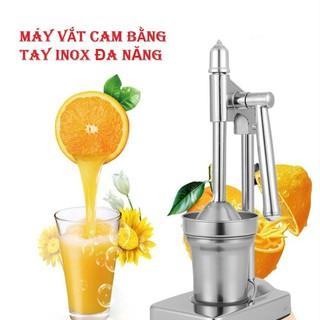 Máy ép cam Inox bằng tay, không dùng điện