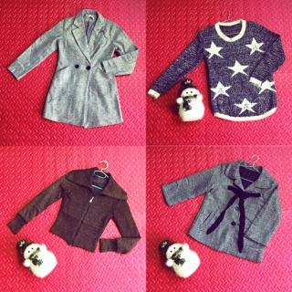Áo khoác, áo len … hàng chuẩn thanh lý