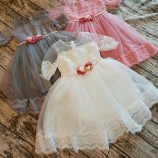 Combo váy công chúa tay lỡ