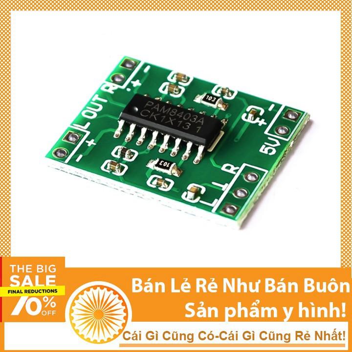 Mạch Khuếch Đại Âm Thanh PAM8403 2x3W HiFi