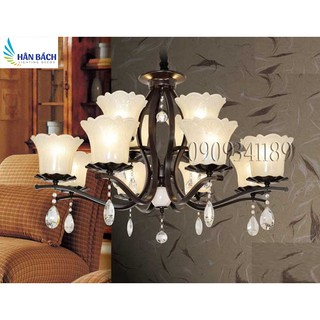 đèn chùm,đèn chùm phòng khách,đèn chùm hiện đại,đèn gắn trần phòng khách