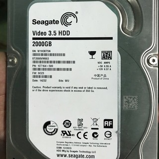 Ổ cứng HDD 2T SEAGATE