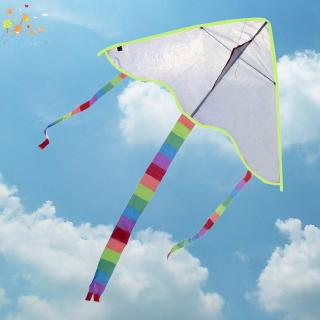 Sunny☀Diy Kite Painting Kite Outdoor Toys Kite Flying(Random Color Type)
