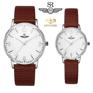 Đồng hồ đôi mặt kính sapphire SRWATCH SR2086.4102RNT chống trầy, chống nước 5ATM bảo hành 12 tháng quốc tế thumbnail