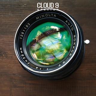 Ống kính MF - Minolta Auto ROKKOR-PF 58mm f1.4 ngàm Minolta MD ( SR ) - 1261182 thumbnail