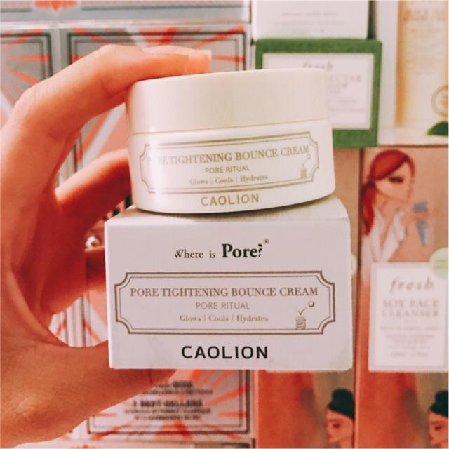 [Caolion] Kem dưỡng nâng cơ se khít lỗ chân lông Pore Tightening Bounce Cream