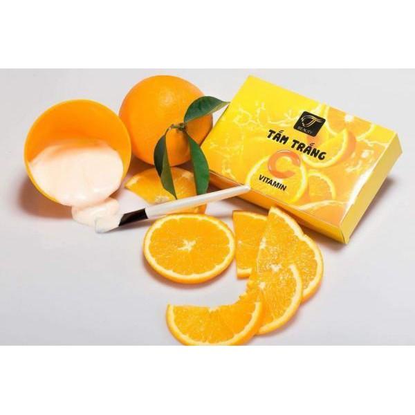 Tắm trắng vitamin C tinh chất cam tươi an toàn,hiệu quả