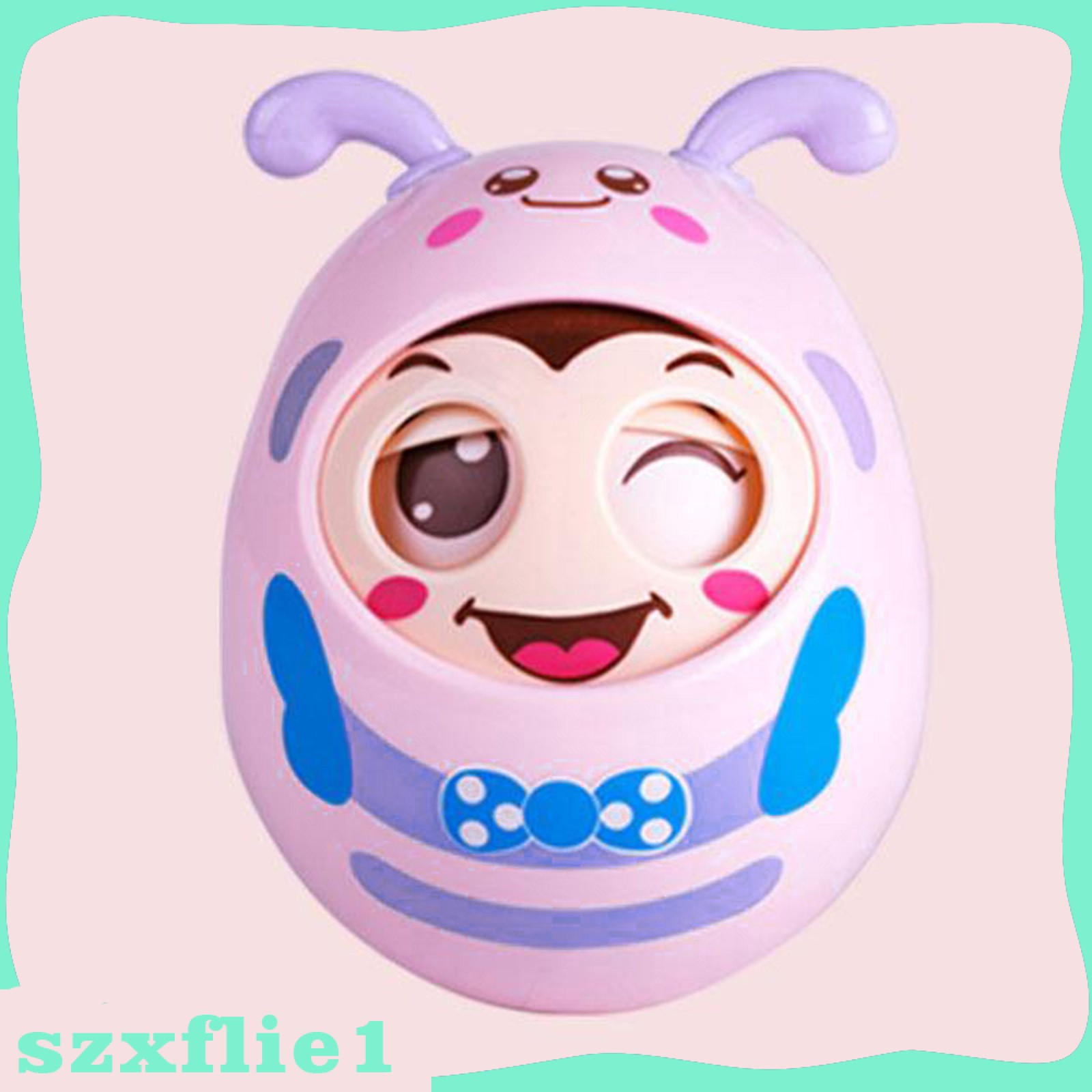 [Hot Sale] Roly-Poly Tumbler Doll Baby Toys 6-12 Month Developmental Toy