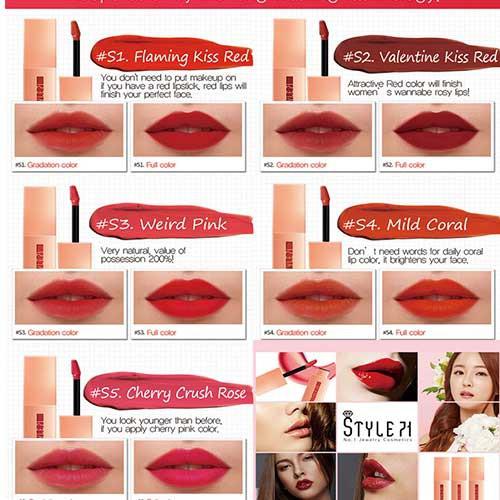 Son kem Style71 Jewelry Velvet Lip Tint 4g