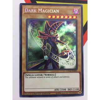 YUGIOH – Dark Magician – Secret Rare – CT14-EN001
