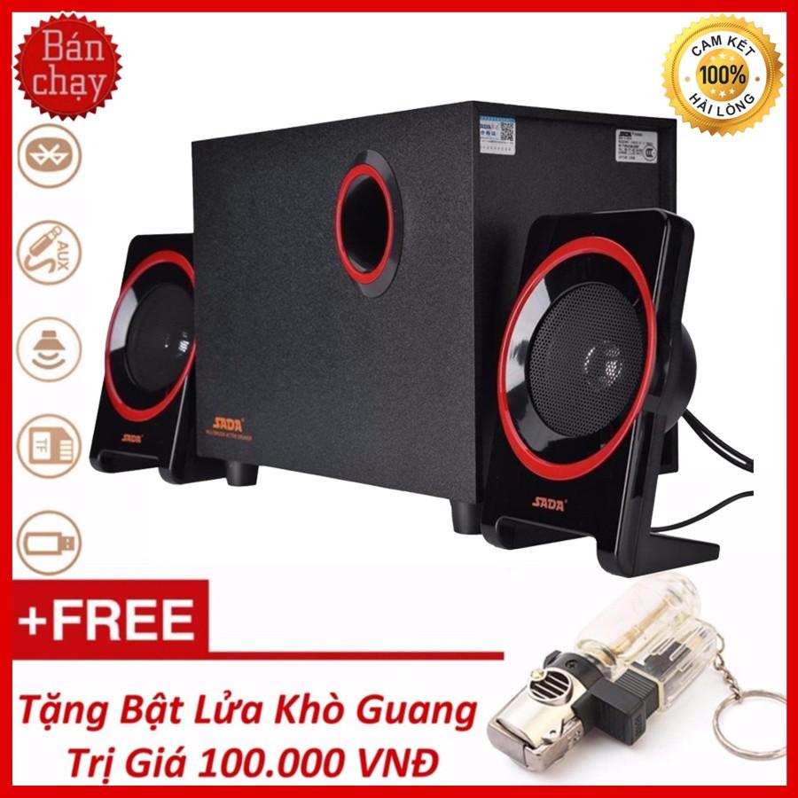Bộ Loa Máy Tính 2.1 SADA D-225 Hỗ Trợ Bluetooth, Usb, Thẻ nhớ, Jack 3.5 + Tặng Bật Lửa Guang - 3435175 , 789201581 , 322_789201581 , 399000 , Bo-Loa-May-Tinh-2.1-SADA-D-225-Ho-Tro-Bluetooth-Usb-The-nho-Jack-3.5-Tang-Bat-Lua-Guang-322_789201581 , shopee.vn , Bộ Loa Máy Tính 2.1 SADA D-225 Hỗ Trợ Bluetooth, Usb, Thẻ nhớ, Jack 3.5 + Tặng Bật Lửa