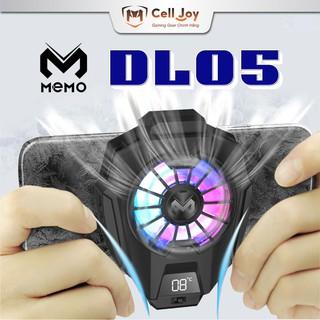 Tản nhiệt chơi game MEMO DL-05 quạt tản nhiệt điện thoại chỉ báo nhiệt độ đèn LED Gaming RGB thumbnail