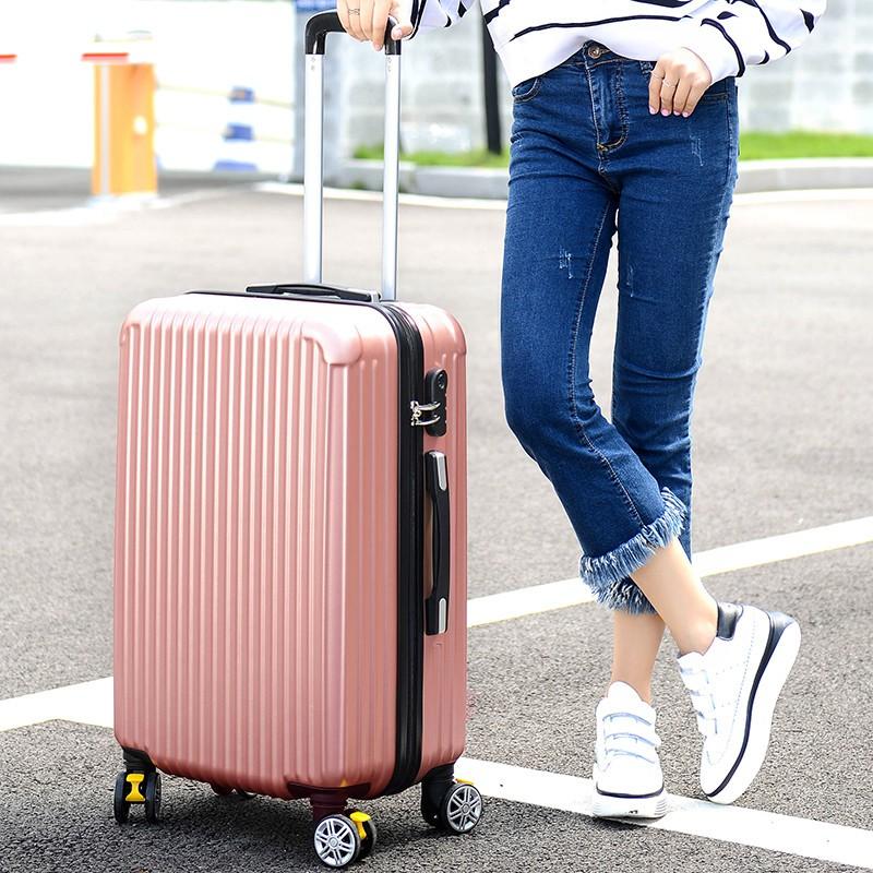 VALI DU LỊCH SIZE 24inch NS8801 NHỰA PC CAO CẤP - CỰC XINH-Gửi từ TPHCM--Hàng có sẵn sàng hàng  vali chống xước