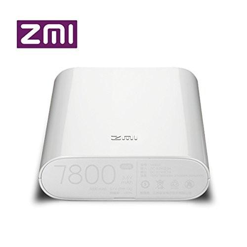 Thiết bị phát wifi từ sim 3G/4G Xiaomi ZMI MF855 kiêm sạc dự phòng 7800mAH