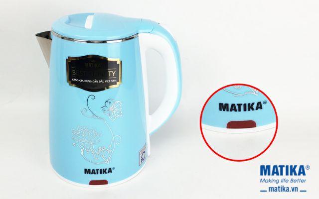 Ấm siêu tốc Matika MTK-20 xanh dương thiết kế hiện đại dung tích lớn 2L |  Shopee Việt Nam