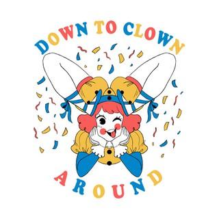 Áo Thun Down to Clown T-Shirt Chất Liệu Cotton Cực Thoáng Mát Đủ Size Nam Nữ [NT042] [FREE SHIP]