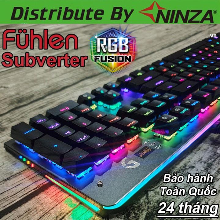 Bàn phím cơ Fuhlen Subverter - Bàn phím cơ RGB