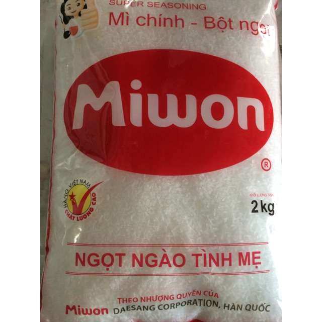 Bột ngọt (mì chính) Miwon 2kg cánh L - 10014635 , 219969648 , 322_219969648 , 97000 , Bot-ngot-mi-chinh-Miwon-2kg-canh-L-322_219969648 , shopee.vn , Bột ngọt (mì chính) Miwon 2kg cánh L