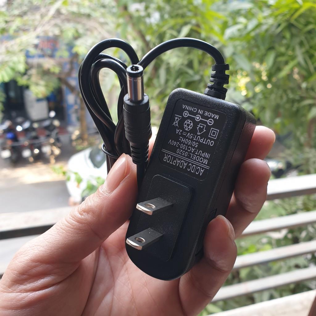 Yêu ThíchNguồn adapter 5V-2A chân to 5.5 x 2.5mm dùng cho đầu thu kỹ thuật số, android box, ...