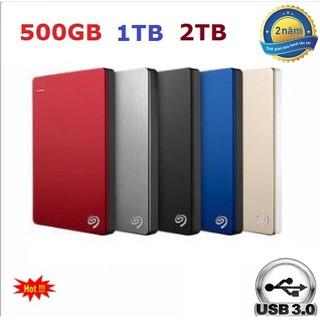 Ô cứng di động Seagate 320GB 500gb 1TB 2TB HDD box 1000Gb USB 3.0