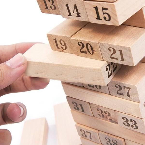 [Nhập TOYAPR10K giảm ngay 10K]đồ chơi rút gỗ 48 miếng nặng 1kg | CHẤT LƯỢNG CAO